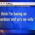 Funny Video/Audio Of Cop OD's On Pot Brownies