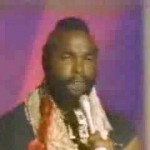 A Funny Video Clip: Mr. T Sings About Mothers