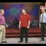 whose line is it anyway - if you know what I mean !! :)