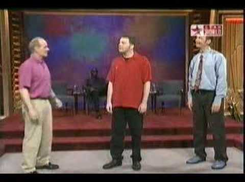 whose line is it anyway – if you know what I mean !! :)