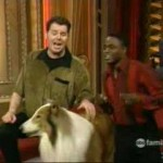 whose line is it anyway - duet to Lassie the dog