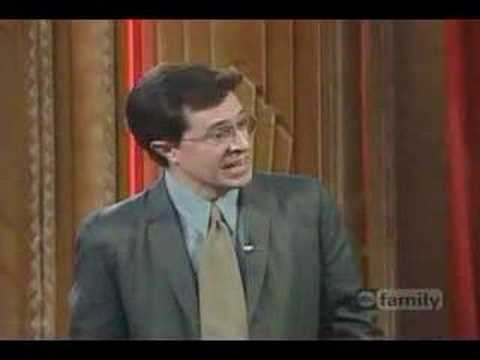 Whose line is it anyway – Scene to Rap with Stephen Colbert