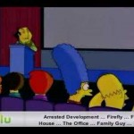 The Simpsons - Man Getting Hit By Football